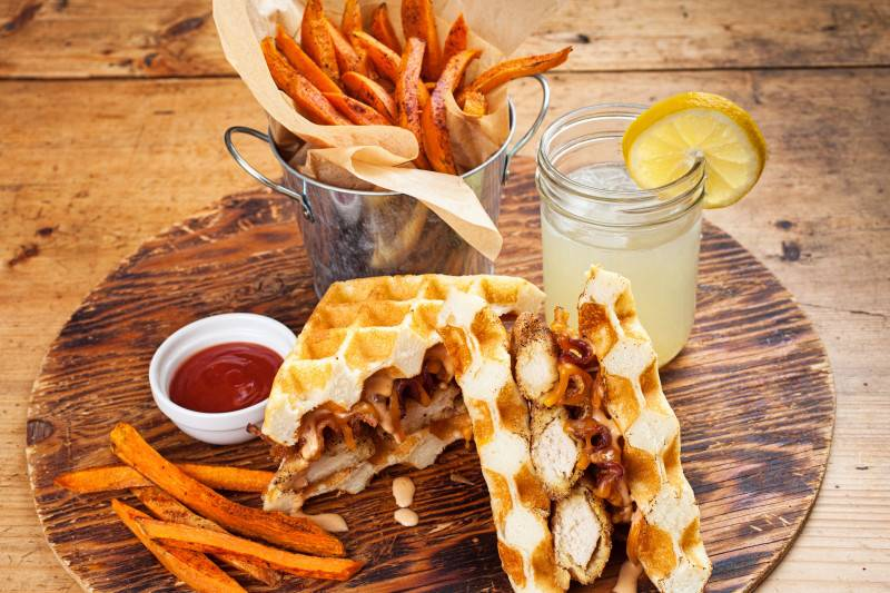 Chicken o Waffles